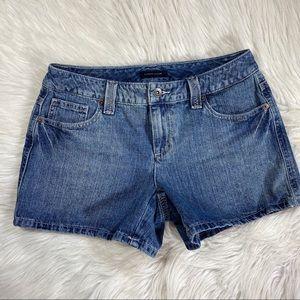 Tommy Hilfiger Jean Shorts size 6 low rise